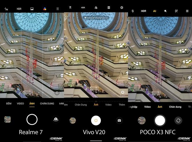 So sánh 3 smartphone tầm trung nổi bật cùng tầm giá: Realme 7 vs Vivo V20 vs POCO X3 NFC - Ảnh 15.