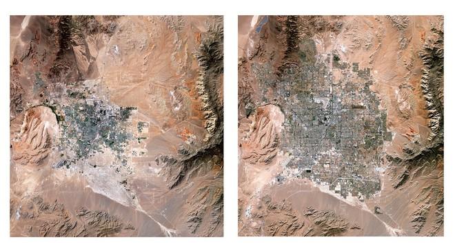 Bộ sưu tập ảnh vệ tinh từ năm 1984 cho thấy con người đã thay đổi Trái Đất như thế nào? - Ảnh 2.
