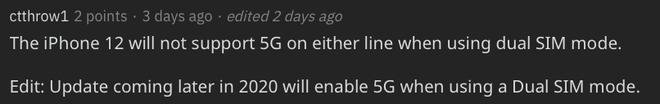 iPhone 12 không dùng được 5G khi lắp 2 SIM - Ảnh 3.