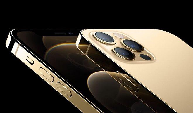 iPhone 12 Pro màu Gold có khung viền thép bền hơn so với các màu khác - Ảnh 1.