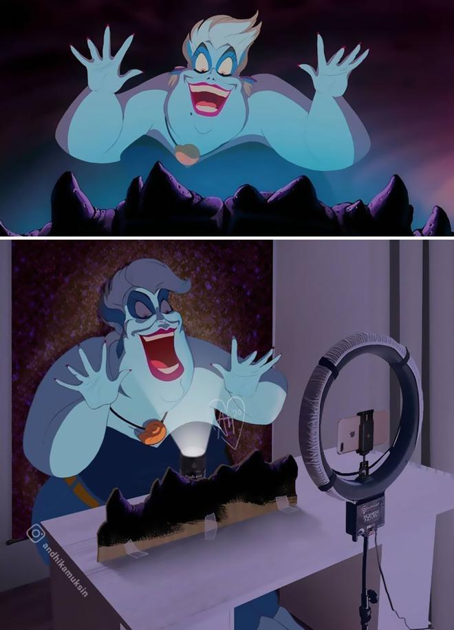 Khi các cảnh quay nổi tiếng của Disney được khán giả chế lại ảnh hậu trường thì trông sẽ như thế nào? - Ảnh 5.