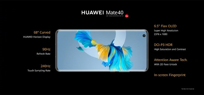 Huawei Mate40 series ra mắt: Kirin 9000 5G, màn hình 90Hz, camera siêu khủng, sạc nhanh 66W, giá từ 24.6 triệu đồng - Ảnh 3.
