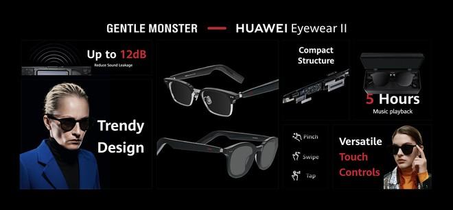 Huawei ra mắt bộ ba phụ kiện chanh sả cho Mate40: Watch GT 2 Porsche Design, tai nghe FreeBuds Studio, kính thông minh Gentle Monster - Ảnh 6.