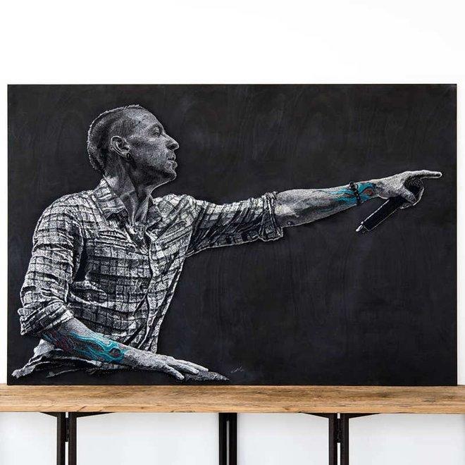 Chỉ bằng đinh và sợi chỉ, nghệ sỹ người Nga khiến người xem trầm trồ thán phục với các tác phẩm nghệ thuật chân dung độc đáo - Ảnh 5.