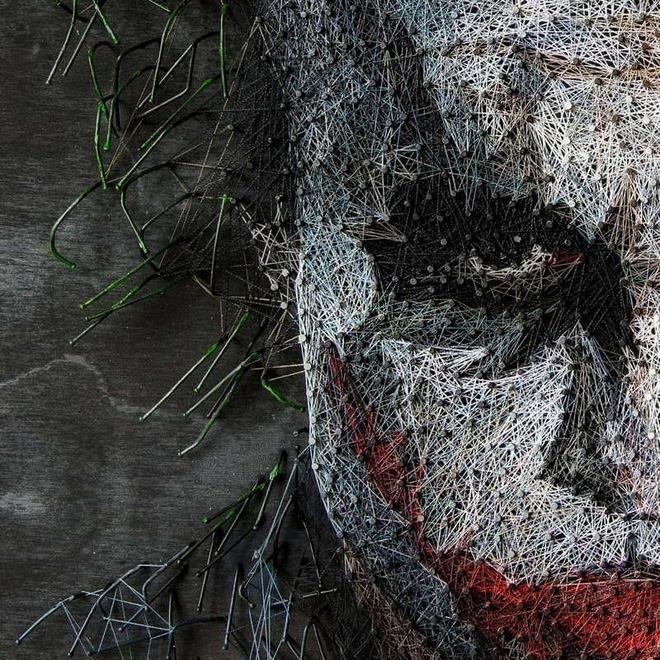 Chỉ bằng đinh và sợi chỉ, nghệ sỹ người Nga khiến người xem trầm trồ thán phục với các tác phẩm nghệ thuật chân dung độc đáo - Ảnh 11.