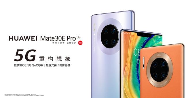 Huawei Mate30E Pro 5G ra mắt: Giống Mate30 Pro nhưng hiệu năng yếu hơn - Ảnh 1.