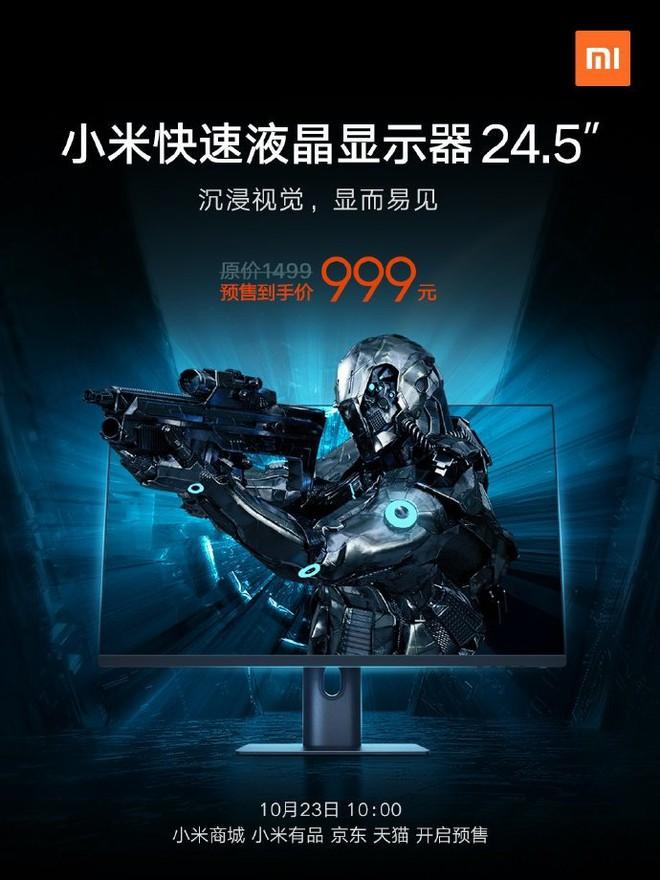 Xiaomi ra mắt màn hình gaming: IPS, 144Hz, giá 5 triệu đồng - Ảnh 1.