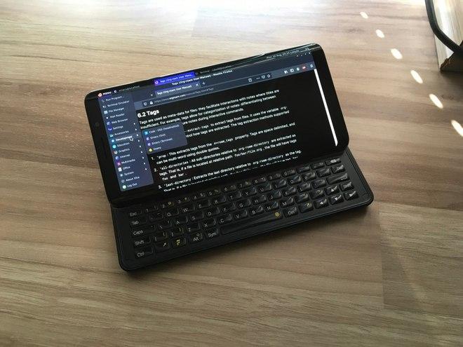 Diễn đàn công nghệ XDA trình làng smartphone đầu tiên Pro1-X: Chạy được cả LineageOS và Ubuntu Touch - Ảnh 10.
