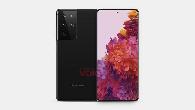 Samsung Galaxy S21 Ultra lộ diện với thiết kế không đổi, màn hình 144Hz, pin 5.000 mAh - Ảnh 1.