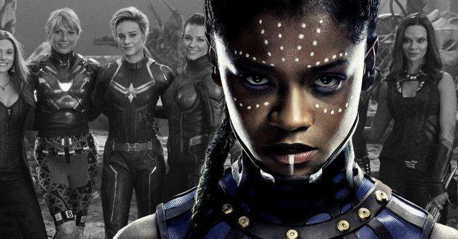 Letitia Wright tiết lộ rằng sẽ có một bộ phim về Avengers dành cho các nữ siêu anh hùng - Ảnh 2.