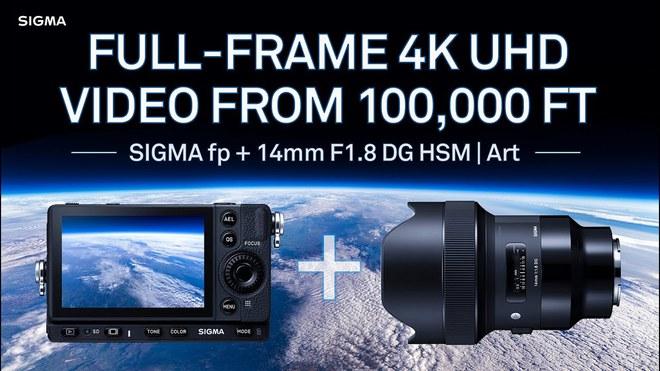 Sigma buộc 2 chiếc máy ảnh vào bóng bay để chụp lại ảnh Trái đất từ Vũ trụ - Ảnh 1.
