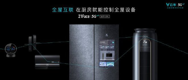 Xiaomi ra mắt tủ lạnh thông minh: 520 lít, màn hình cảm ứng, Wi-Fi 6, giá 17.4 triệu đồng - Ảnh 3.