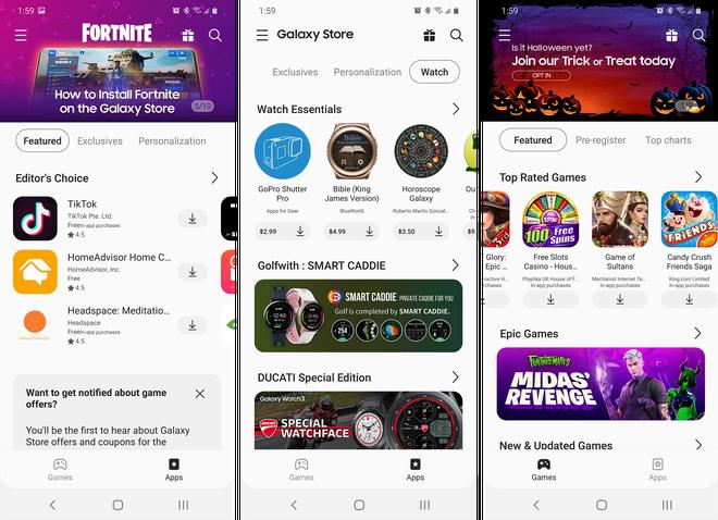 Tận dụng lúc Fortnite bị Google-Apple cấm cửa, Samsung tăng cường quảng bá Galaxy Store - Ảnh 1.