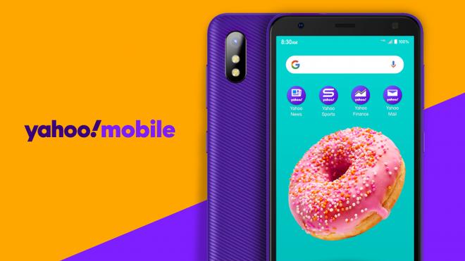 Yahoo ra mắt smartphone siêu rẻ, giá chỉ 49 USD - Ảnh 1.