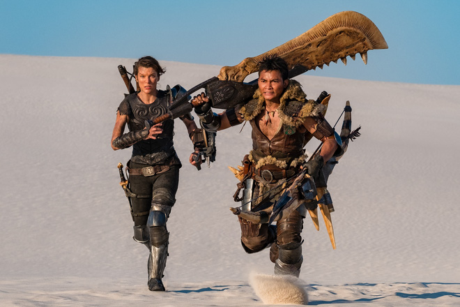 Teaser của Monster Hunter lên sóng, hé lộ quái vật khủng long cát siêu ngầu khiến súng đạn cũng phải bó tay - Ảnh 2.