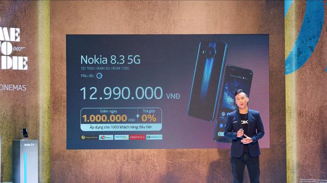 Nokia 8.3 5G ra mắt tại VN: Snapdragon 765G, camera 64MP, hỗ trợ 5G, giá 12.9 triệu đồng - Ảnh 6.