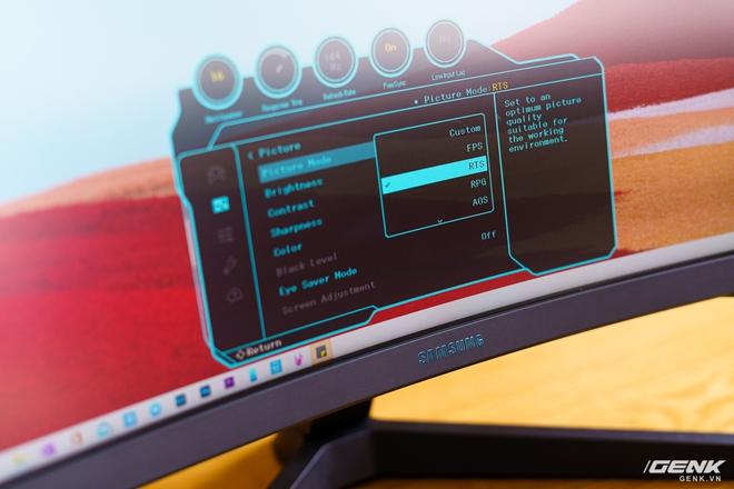 Trên tay và trải nghiệm nhanh Odyssey G5: màn hình cong chuyên game 144 Hz, tốc độ đáp ứng 1ms từ Samsung - Ảnh 13.