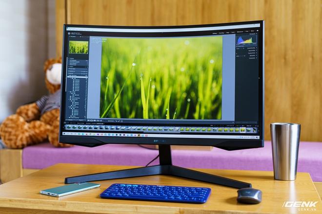 Trên tay và trải nghiệm nhanh Odyssey G5: màn hình cong chuyên game 144 Hz, tốc độ đáp ứng 1ms từ Samsung - Ảnh 17.