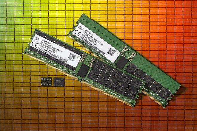 Đây chính là bộ nhớ RAM DDR5 đầu tiên trên thế giới - Ảnh 1.