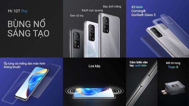 Xiaomi Mi 10T Pro ra mắt: Màn hình 144Hz, camera 108MP, Snapdragon 865, giá từ 11.9 triệu đồng - Ảnh 2.