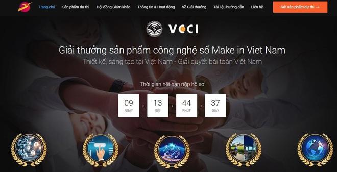 Giải thưởng Sản phẩm công nghệ số Make in Viet Nam sắp hết hạn đăng ký - Ảnh 1.