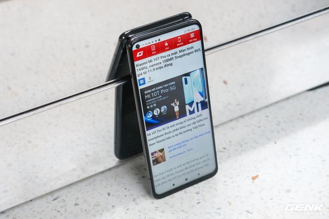 Trên tay Xiaomi Mi 10T Pro 5G: Mặt lưng bóng bẩy, màn LCD 144Hz, cấu hình mạnh dư sức chơi Genshin Impact mức cao nhất - Ảnh 20.
