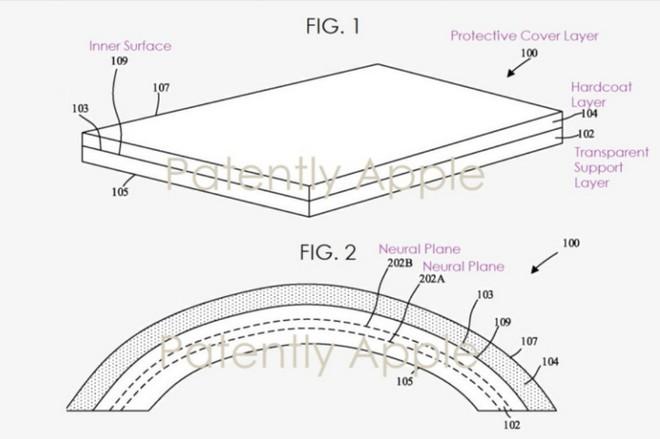 Bằng sáng chế mới nhất hé lộ smartphone màn hình gập của Apple sẽ không bị nứt khi gập lại - Ảnh 2.