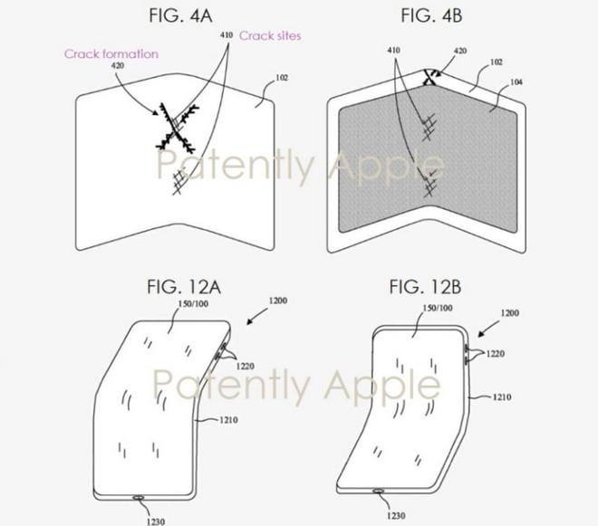 Bằng sáng chế mới nhất hé lộ smartphone màn hình gập của Apple sẽ không bị nứt khi gập lại - Ảnh 3.