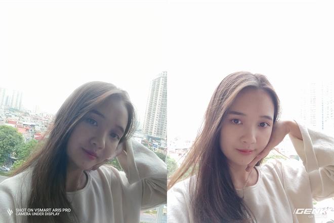 So sánh camera selfie Vsmart Aris Pro và Aris: Phần mềm liệu đủ để bù đắp hạn chế phần cứng? - Ảnh 8.