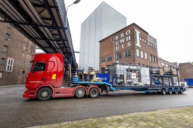 Nhà máy sản xuất bia ở Hà Lan là nơi đầu tiên đốt bột sắt thay nhiên liệu hóa thạch, thu về kết quả khả quan bất ngờ - Ảnh 4.