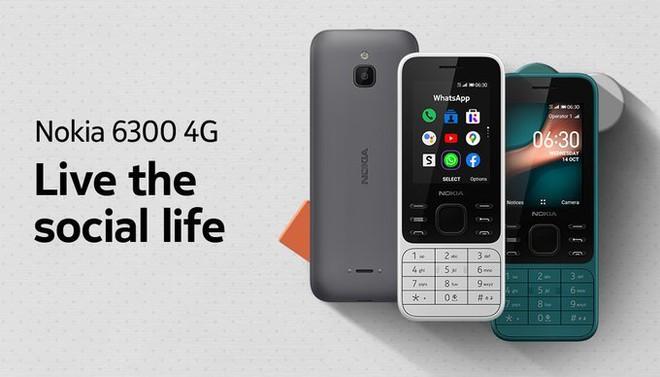 Nokia 6300 và Nokia 8000 hồi sinh với thiết kế mới, hỗ trợ 4G, giá lên tới 2.2 triệu đồng - Ảnh 1.