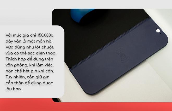 Lót chuột giá chỉ 150k mà tích hợp cả sạc nhanh không dây: Mới dùng thì thấy đáng tiền, nhưng lâu dài thì không chắc - Ảnh 5.