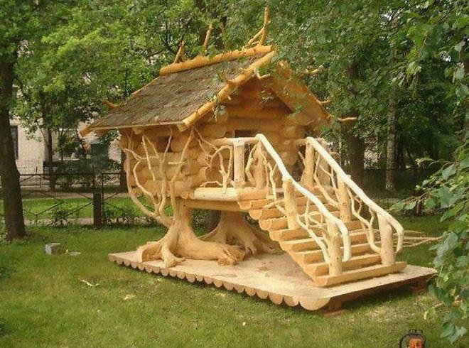 Hóa ra xây chuồng gà cũng có thể sáng tạo được tới mức này - Ảnh 3.