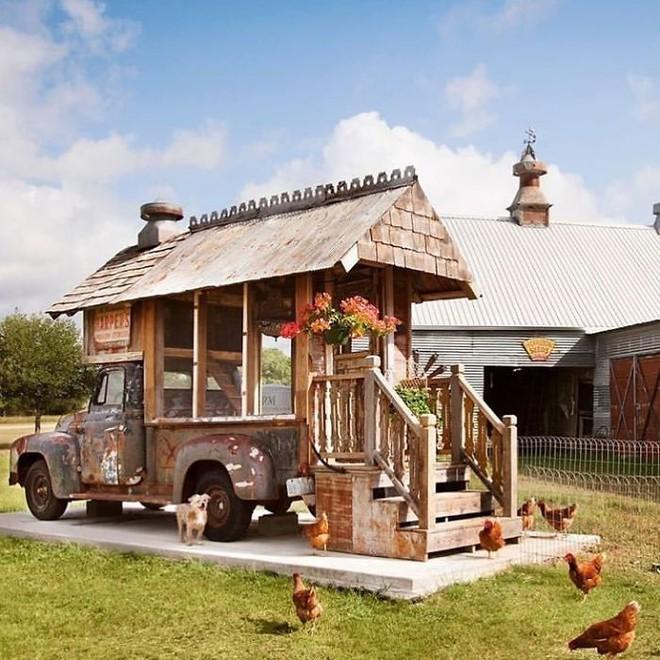 Hóa ra xây chuồng gà cũng có thể sáng tạo được tới mức này - Ảnh 5.