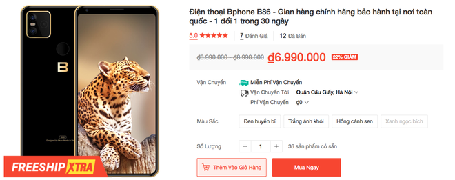 Bphone B86 giảm giá 3 triệu đồng - Ảnh 4.