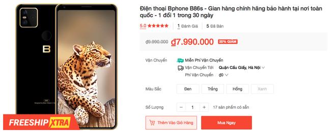 Bphone B86 giảm giá 3 triệu đồng - Ảnh 5.