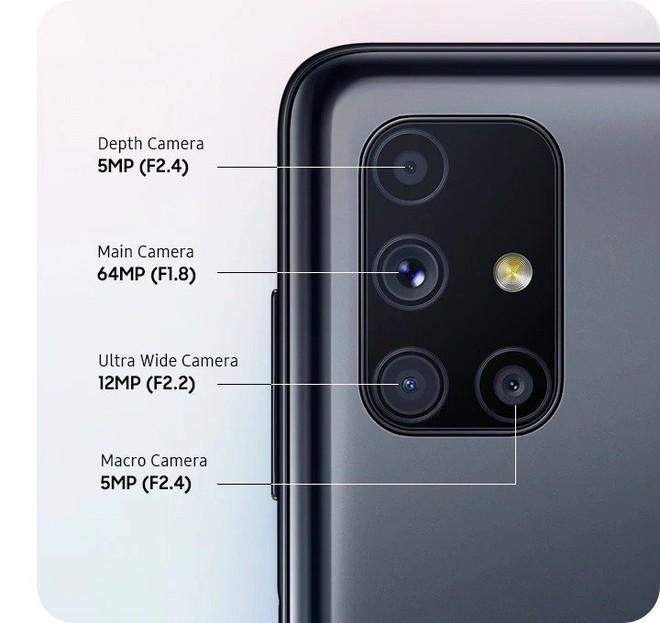 Galaxy M51 ra mắt tại VN: Snapdragon 730G, 4 camera chính, pin 7000mAh cực khủng, giá 9.49 triệu đồng - Ảnh 2.