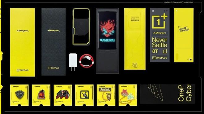 OnePlus 8T phiên bản Cyberpunk 2077 ra mắt: Thiết kế cực chất, giá 14 triệu đồng - Ảnh 3.