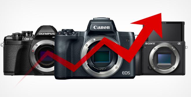 Lượng máy ảnh không gương lật bán ra tại Nhật Bản đã tăng 128.9% trong tháng 10 - Ảnh 1.