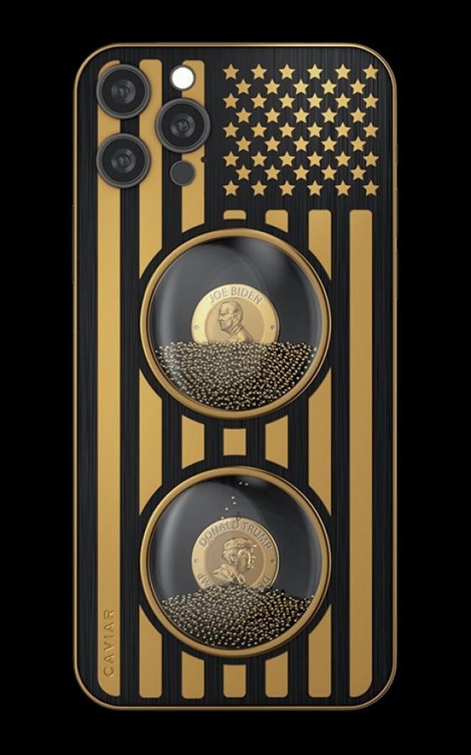 """Đây là iPhone 12 Pro phiên bản """"Biden & Trump"""": Chỉ có 46 chiếc, giá từ 345  triệu đồng"""