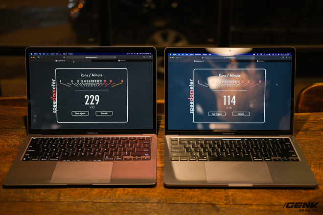 Trải nghiệm nhanh MacBook Air 2020 chip M1: Tôi đã sốc khi Pro 13 inch 2020 bị ngửi khói toàn tập - Ảnh 7.