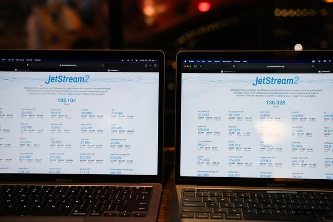 Trải nghiệm nhanh MacBook Air 2020 chip M1: Tôi đã sốc khi Pro 13 inch 2020 bị ngửi khói toàn tập - Ảnh 8.