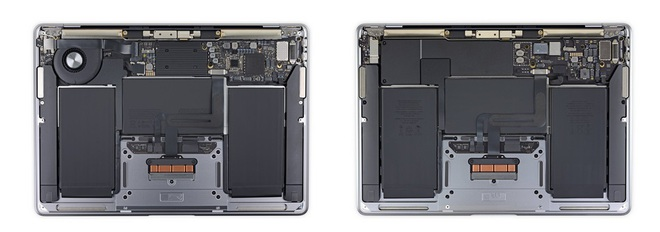 Bên trong máy MacBook mới chip M1 có gì? - Ảnh 1.