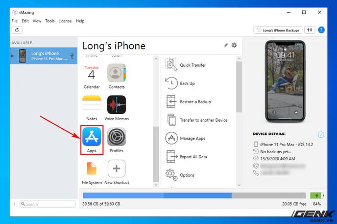 Hướng dẫn sao lưu, khôi phục dữ liệu ứng dụng trên iPhone và iPad - Ảnh 10.