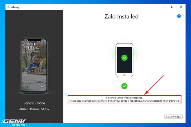Hướng dẫn sao lưu, khôi phục dữ liệu ứng dụng trên iPhone và iPad - Ảnh 24.