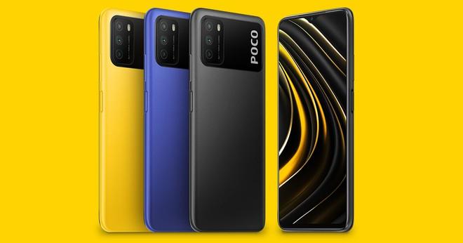 POCO M3 ra mắt: Thiết kế mới lạ, Snapdragon 662, camera 48MP, pin 6000mAh, giá chỉ từ 3 triệu đồng - Ảnh 1.