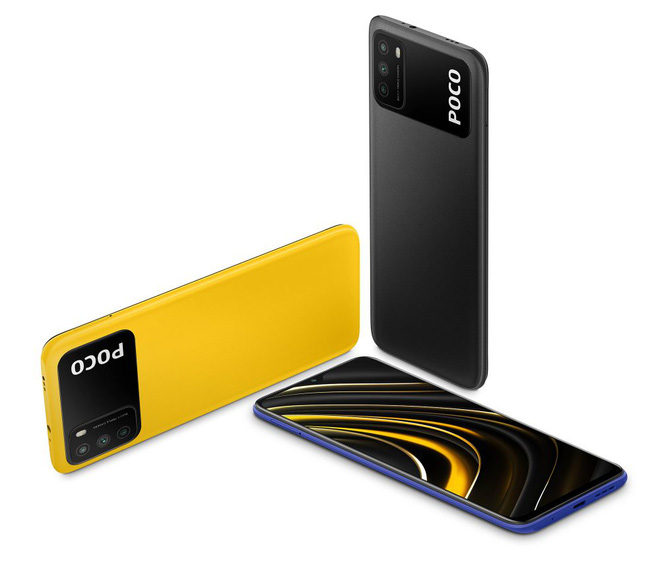 POCO M3 ra mắt: Thiết kế mới lạ, Snapdragon 662, camera 48MP, pin 6000mAh, giá chỉ từ 3 triệu đồng - Ảnh 2.