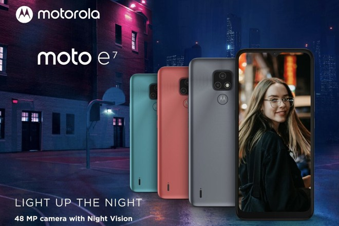 Motorola ra mắt chiếc smartphone có giá rẻ nhất Moto E7 - Ảnh 1.