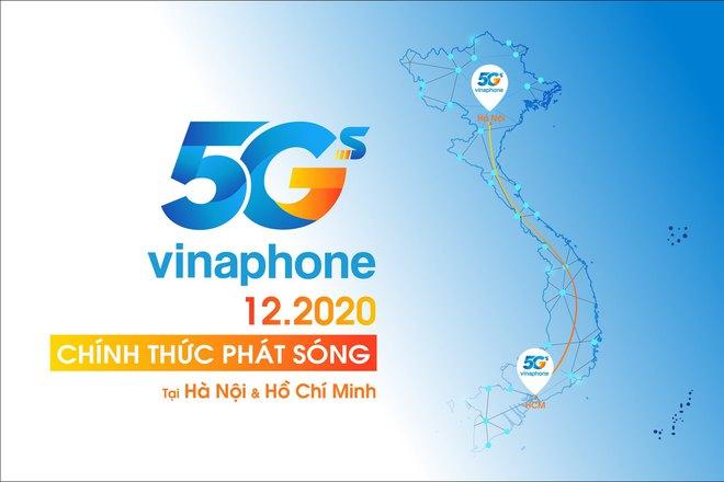 VinaPhone phát sóng 5G tại HN và TP.HCM vào tháng 12/2020 - Ảnh 1.