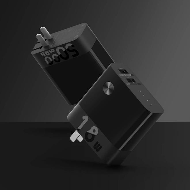 Xiaomi ra mắt củ sạc tích hợp pin dự phòng: 5000mAh, sạc nhanh 18W, 2 cổng USB-A, giá 450.000 đồng - Ảnh 2.